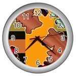colordesign-391598 Wall Clock (Silver)