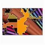 colordesign-391598 Postcards 5  x 7  (Pkg of 10)