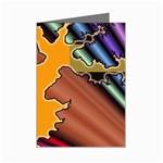 colordesign-391598 Mini Greeting Cards (Pkg of 8)