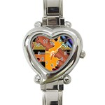 colordesign-391598 Heart Italian Charm Watch