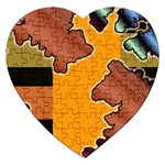 colordesign-391598 Jigsaw Puzzle (Heart)