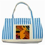 colordesign-391598 Striped Blue Tote Bag