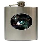 eye-538468 Hip Flask (6 oz)