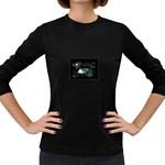 eye-538468 Women s Long Sleeve Dark T-Shirt