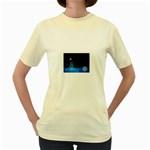 futur2-630637 Women s Yellow T-Shirt