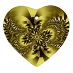 gold-260221 Ornament (Heart)