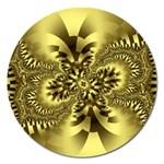 gold-260221 Magnet 5  (Round)