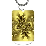 gold-260221 Dog Tag (One Side)