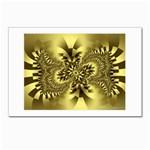 gold-260221 Postcard 5  x 7