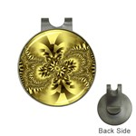 gold-260221 Golf Ball Marker Hat Clip