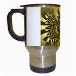 gold-260221 Travel Mug (White)