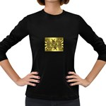 gold-260221 Women s Long Sleeve Dark T-Shirt