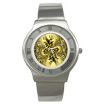 gold-260221 Stainless Steel Watch