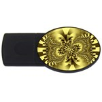 gold-260221 USB Flash Drive Oval (4 GB)