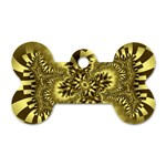 gold-260221 Dog Tag Bone (One Side)