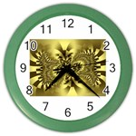 gold-260221 Color Wall Clock