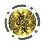 gold-260221 Poker Chip Card Guard