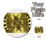 gold-260221 Multi-purpose Cards (Round)