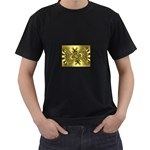 gold-260221 Black T-Shirt