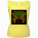 Grimbala-954205 Women s Yellow Tank Top