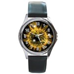 ikon06b-42458 Round Metal Watch