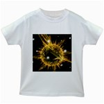 ikon06b-42458 Kids White T-Shirt