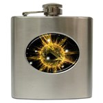 ikon06b-42458 Hip Flask (6 oz)