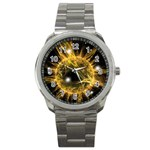 ikon06b-42458 Sport Metal Watch