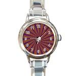 mind_chaos-P1-124543 Round Italian Charm Watch