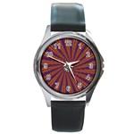 mind_chaos-P1-124543 Round Metal Watch