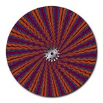 mind_chaos-P1-124543 Round Mousepad
