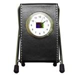 poison-917756 Pen Holder Desk Clock