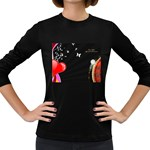 1024-feb-752974 Women s Long Sleeve Dark T-Shirt