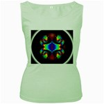 Aloe%20Heat-891123 Women s Green Tank Top