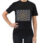 Art-Rings-864831 Women s Black T-Shirt