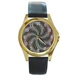 compacta_2-137907 Round Gold Metal Watch