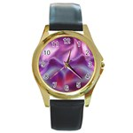 color-galaxy-323371 Round Gold Metal Watch
