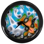 Color_Magma-559871 Wall Clock (Black)