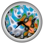 Color_Magma-559871 Wall Clock (Silver)