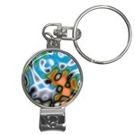 Color_Magma-559871 Nail Clippers Key Chain