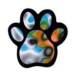 Color_Magma-559871 Magnet (Paw Print)