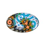 Color_Magma-559871 Sticker Oval (100 pack)