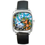 Color_Magma-559871 Square Metal Watch