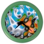 Color_Magma-559871 Color Wall Clock