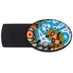 Color_Magma-559871 USB Flash Drive Oval (4 GB)
