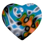 Color_Magma-559871 Heart Ornament (Two Sides)
