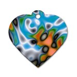 Color_Magma-559871 Dog Tag Heart (Two Sides)