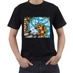 Color_Magma-559871 Black T-Shirt