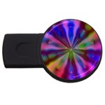 Bounty_Flower-161945 USB Flash Drive Round (4 GB)