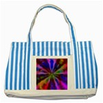 Bounty_Flower-161945 Striped Blue Tote Bag
